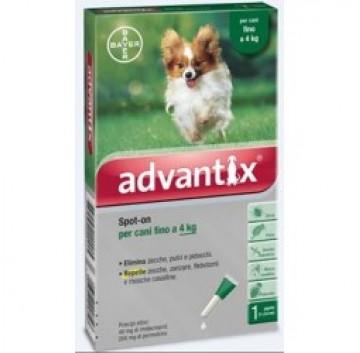 Advantix Spot On 1 pipetta 0,4ml 4kg