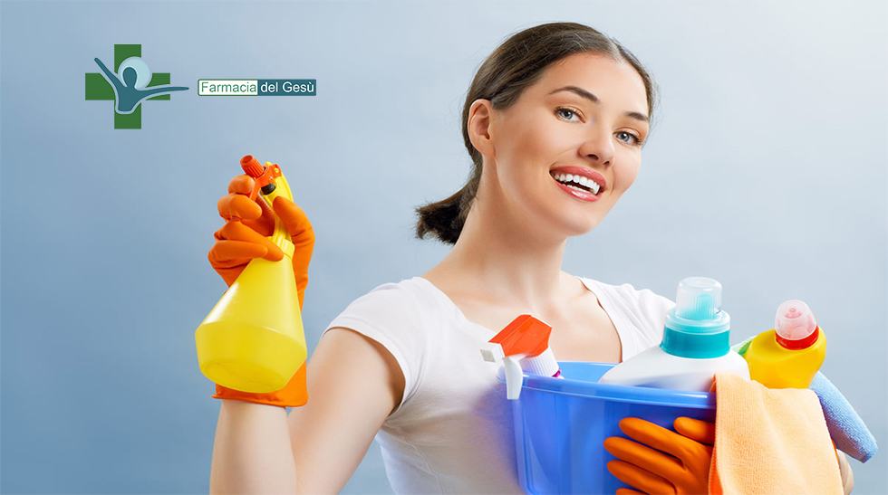 Come igienizzare casa ai tempi del Covid19