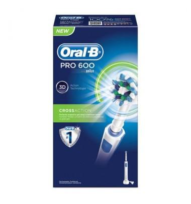 Oral-b Power Pc 600 Crossaction CON CARTOLINA RIMBORSO 10 EURO DELLA PROCTER&GAMBLE