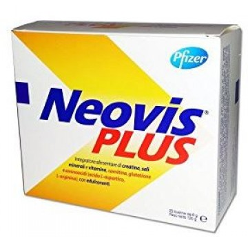 Neovis Plus Integratore Creatina Vitamina Sali Minerali 20 Bustine