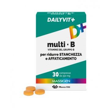 Dailyvit+ Multi B 30 Compresse NUOVO ARRIVO CONFEZIONE ITALIANA SCADENZA LUNGA