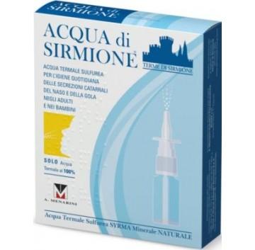 Acqua Sirmione Minerale Naturale 6 flaconi da 15 ml