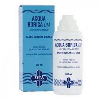Acqua Borica DM Bagno Oculare Sterile 500 ml