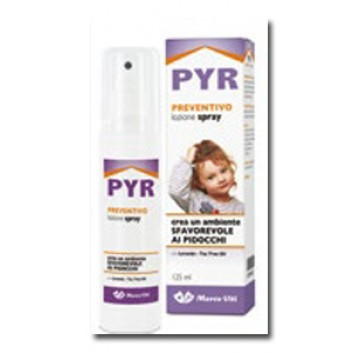 PYR Preventivo Pidocchi Flacone spray da 125 ml