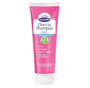 Euphidra Amido Doccia Shampoo 2 in 1 Flacone da 250 ml