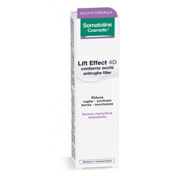Somatoline Cosmetic Somatoline Filler 4D Contorno Occhi 15 ml
