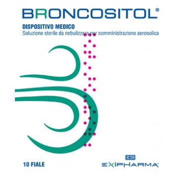 BRONCOSITOL SOL AEROS 10F 3ML