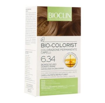 Bioclin Bio Colorist Tintura Capelli Colore Biodo Scuro Dorato