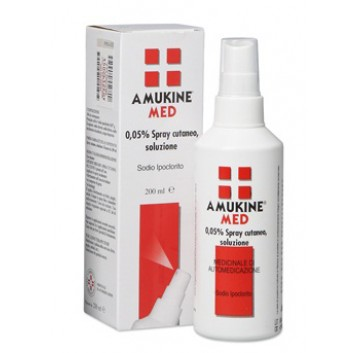 AMUKINE MED*SPRY CUT 200ML 0,05%