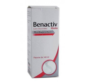 BENACTIV GOLA*COLLUT 160ML 2,5