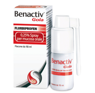 Benactiv Gola*spray 15ml 0,25%