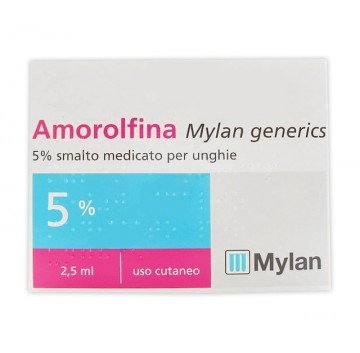 AMOROLFINA MG*SMALTO 2,5ML 5%