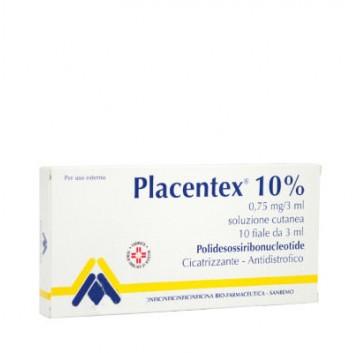 PLACENTEX*SOL CUT 10F 0,75MG