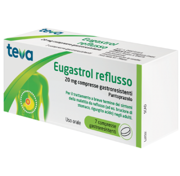 Eugastrol Reflusso*7cpr 20mg